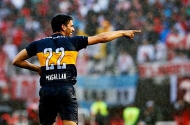 Magallán es nuevo jugador de Defensa. Se acordó su préstamo con Boca y mañana comenzará a entrenarse con su nuevo club.