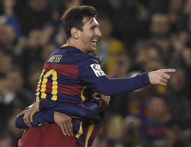 Lionel Messi convirtió tres goles y llegó a los 501 en su carrera.