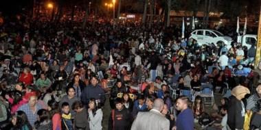 Evento. La fiesta de Cholila tuvo una cantidad de público récord. Y el cierre convocó a unos 15 mil visitantes.