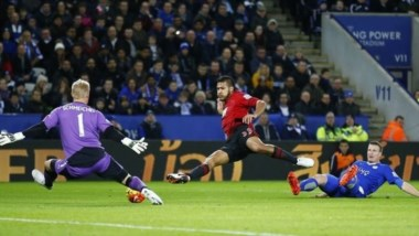 Leicester es el primer equipo en marcar 50 goles esta temporada en la Premier League.