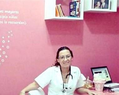 Liliana Doldán, una de las pediatras que atendió a Federica Román.
