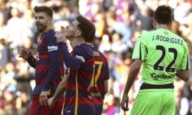 Con un gol y tres asistencias de Messi, el Barcelona venció al Getafe por 6 a 0.