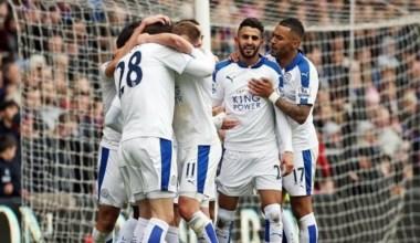 """Mahrez """"alimenta"""" el liderato del Leicester City: Un gol del argelino le dio el triunfo ante Crystal Palace."""