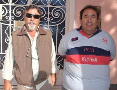 Dúo. Espósito (izquierda) y Lefipán, dos de los veteranos muy molestos.