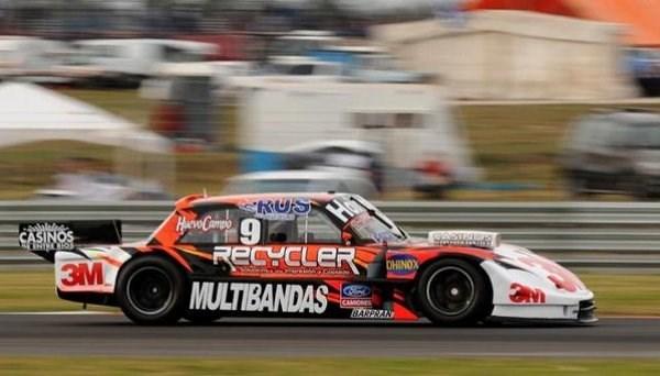 Werner se llevó la primera clasificación del TC en Toay.