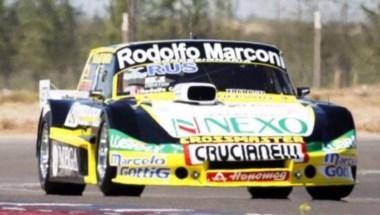 Martíenz ganó la carrera especial en La Pampa, seguido de Ortelli y Mazzacane.