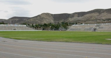 La única vez que Los Pumas jugaron en Chubut. Fue en 2006 ante Gales.