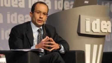 El poderosos empresario, en una presentación en el coloquio de IDEA, en Argentina.