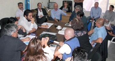 Leandro González, titular de Salud, encabezó ayer un nuevo encuentro en el marco de la paritaria.