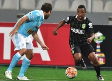 tlético Nacional venció 1-0 a Sporting Cristal y sigue invicto en la Copa.