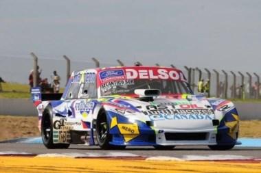 El chubutense Agrelo tuvo un buen jueves en el autódromo de Concordia.