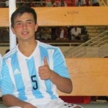 Cubas jugó el Mundial Sub 20 con la selección de Grondona (h).