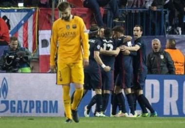 Diego Simeone guía al Atlético Madrid a la semifinal de la Liga de Campeones.