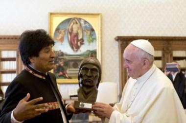 El Papa recibirá al presidente Evo en un claro respaldo al reclamo de Bolivia por la salida al mar que Chile rehúsa.