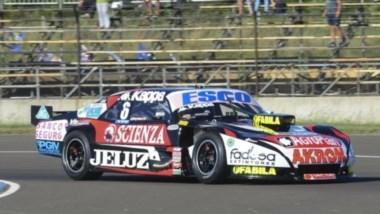 Rossi logró el mejor tiempo de la primera clasificación del TC en Concordia.