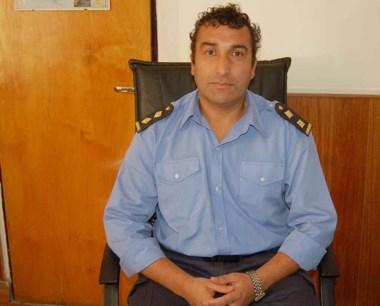 El comisario Guzmán habló sobre el violento hecho que denunció.