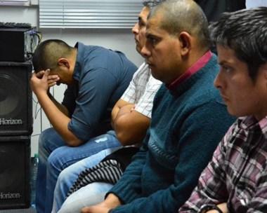 Momentos en que Muñoz recibía la noticia de la condena en su contra por torturas contra el joven.