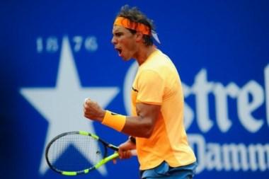 Nadal a semifinales del Conde de Godó después de 3 años. Revancha sobre Fognini.