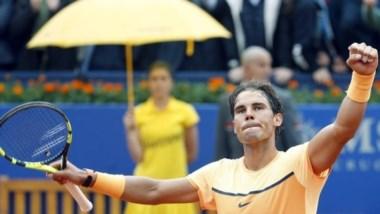 De ganar Barcelona, Rafa Nadal igualará el récord de títulos en polvo de ladrillo del enorme Guillermo Vilas (49).