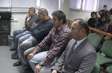 Tensión. Los efectivos policiales de la Comisaría Segunda de Trelew recibirán su pena el 3 de mayo próximo.