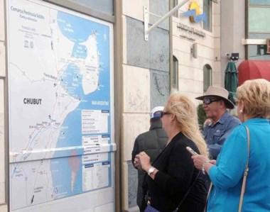 Los números de la temporada de cruceros potenciaron el ingreso de visitantes a Península Valdés.