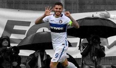 o IIcardi le dio la victoria de visita al Inter que se mantiene en puestos europeos.