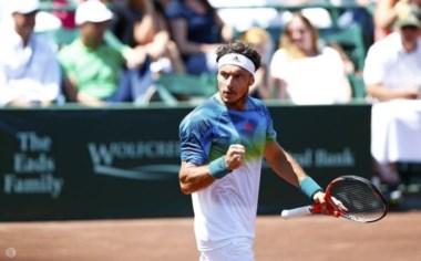 Gran victoria del tandilense frente al campeón vigente de Roland Garros y 4 del mundo, Stan Wawrinka.