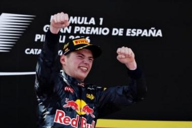 El holandés Max Verstappen entra en historia de la F1 al ganar el GP de España con 18 años de edad.