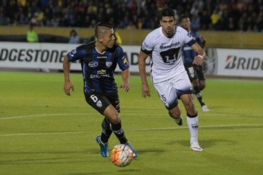 Independiente del Valle le ganó el primer capítulo a Pumas de UNAM.
