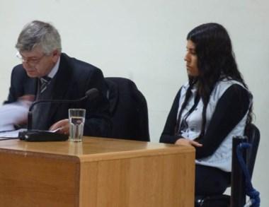 Irma Nahir Quinteros negó las imputaciones que se le achacan.