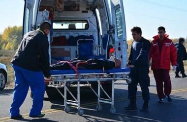 El conductor del auto que atropelló al ciclista se dio a la fuga y lo buscaban muy intensamente.
