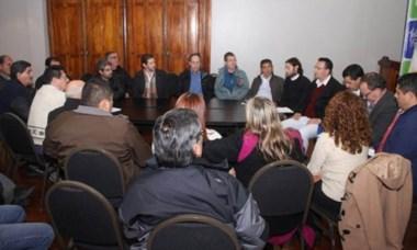 En el encuentro se analizaron opciones para proteger al sector lanero.
