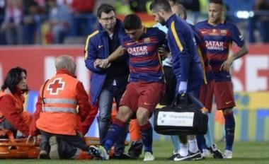 Se confirmó que Luis Suarez sufrió un desgarro. Se pierde al menos los dos primeros partidos de la Copa América.