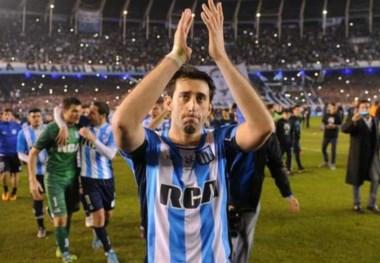 Ultimo partido de Milito en Racing, Saja anunció en las últimas horas que se va del club.