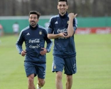 Lavezzi y Pastore,  que, a pesar de estar lesionados, viajan a la Copa América.