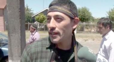 Jones Huala tenía pedido de captura internacional. En Chile escapó mientras cumplía una condena por incendios