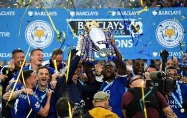 La foto del año. Leicester City, campeón de la Premier League temporada 2015/16.