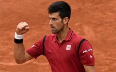 """Novak Djokovic """"paró en seco"""" a Bautista en los octavos de Roland Garros."""