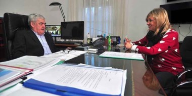 Durante el encuentro se barajaron alternativas para que el municipio pueda afrontar sueldos y aguinaldos.