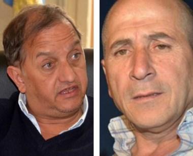 Gestiones. Linares (izquierda) y  Lludgar hablaron de la crisis.