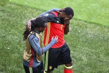 Lukaku lloró tras el doblete en recuerdo por los sacrificios de su madre.