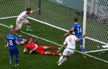 Islandia deja escapar el liderato del Grupo F, al empatar de último minuto con Hungría.