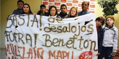 Integrantes de las comunidades orginarias dieron a conocer un pronunciamiento en su visita a Jornada.