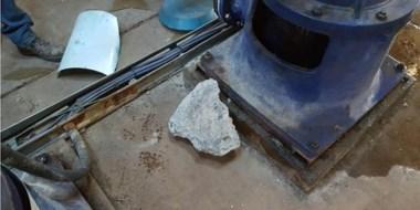 Los destrozos fueron en la sala de bombas del predio ubicado en Avenida de los Trabajadores y Ruta 25.