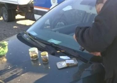 Todas las drogas secuestradas por la Policía  en el puesto Nº 824.