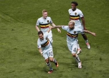 Hazard da una lección de fútbol y mete a Bélgica en cuartos.