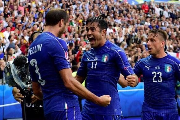 Italia venció a España y hoy quiere eliminar a Alemania.