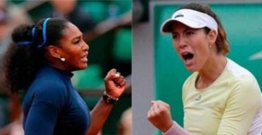 Serena Williams y Garbiñe Muguruza definirán la campeona de Roland Garros.
