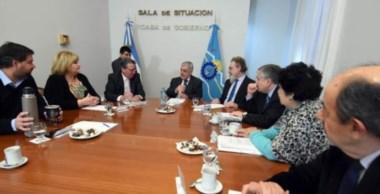 El Gobernador y los legisladores nacionales acordaron una agenda de trabajo común