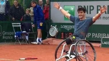 El cordobés ganó su primer torneo de Grand Slam.